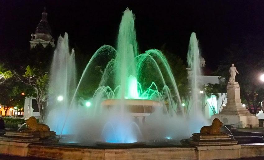 Plaza Las Delicias en Ponce